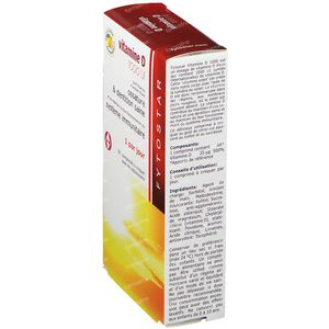 Fytostar Vitamine D 1000 IE 90 kauwtabletten