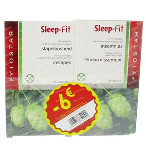 Fytostar Sleep-Fit PROMO DUO 120 St Capsules