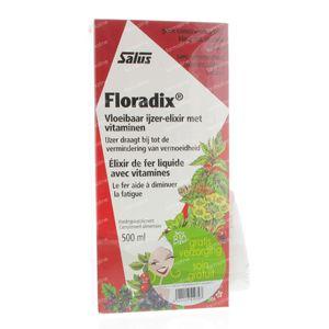 Salus Floradix Elixir + Handcrème Marilou Gratis 500 ml