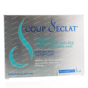 Coup d'Eclat Collagene Anti-Age 12 ml ampoules