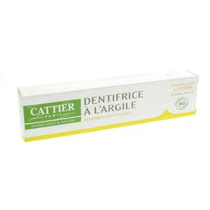 Cattier Dentifrice Argile Agrumes 75 ml