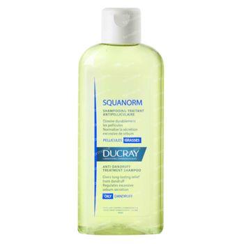 Ducray Squanorm Verzorgende Anti-Roos Shampoo - Vette Schilfers 200 ml
