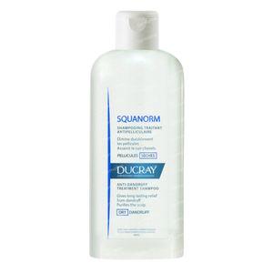 Ducray Squanorm Verzorgende Anti-Roos Shampoo - Droge Schilfers 200 ml