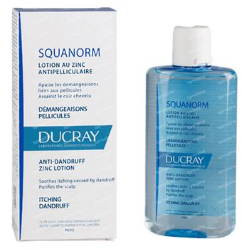 Ducray Squanorm Anti-Roos Lotion met Zink 200 ml