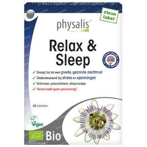 Physalis Relax & Sleep Bio 45 tablets