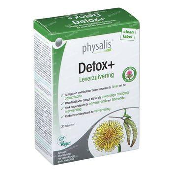 Physalis Detox+ 30 tabletten