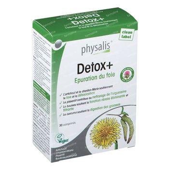 Physalis Detox+ 30 comprimés
