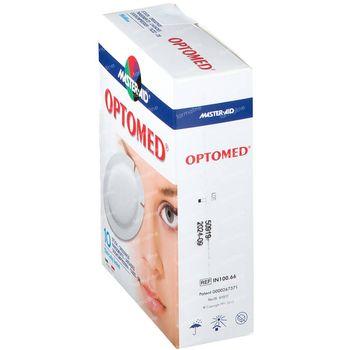 Optomed Oogkompres ADH Latexvrij 96x66mm 10 st