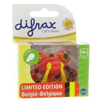 Difrax Tétine Combi Belgique +18m 1 pièce