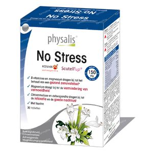 Physalis No Stress 30 tabletten