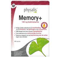 Physalis Memory+ 30  kapseln