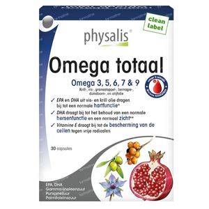 Physalis Omega Totaal 30 capsules