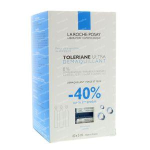 La Roche-Posay Toleriane Ultra Demaquillant 2e -40% 2x30x5 ml ampoules