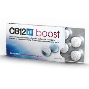 CB12 Boost Strong Mint 10 kauwgoms