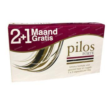 Pilos Forte 2+1 Mois GRATUIT 120+60 capsules