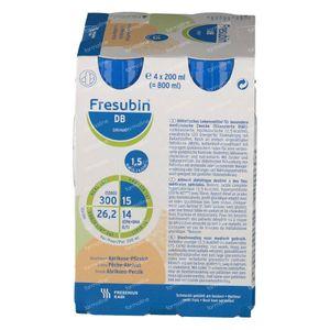 Fresubin DB Drink Abrikoos-Perzik 4x200 ml