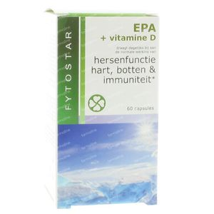 Fytostar EPA + Vitamine D 60 St Capsules