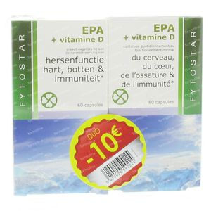 Fytostar EPA + Vitamine D DUO -10 EURO 260 capsules