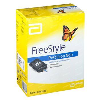 Freestyle Precision Neo Lecteur de Glycémie Kit de Démarrage 71387 1 pièce