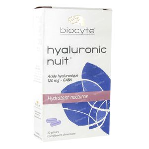 Biocyte Hyaluronic Jour/Nuit 270mg 60 capsules