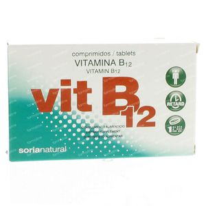 Soria Natural Vitamine B12 48 St Tabletten