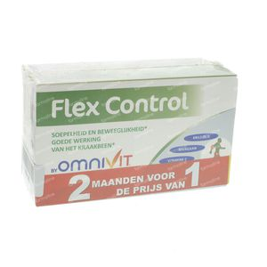 Omnivit Flex Control 45Mg Duo 1+1 Gratis 60 capsules