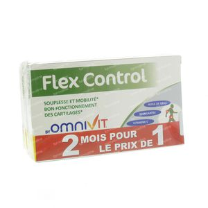 Omnivit Flex Control 45Mg Duo 1+1 Gratuit 60 capsules