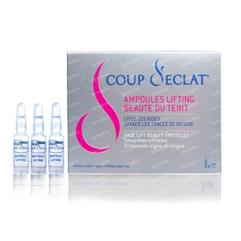 Coup d'Eclat Lifting 12 ampoules
