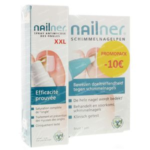 Nailner Promopack Big + Spray XXL (-10 euro) 36 ml