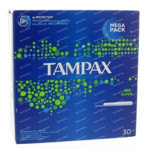 Tampax Super 30 pièces