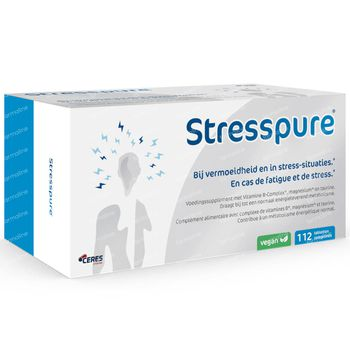 StressPure - Vitamine B-Complex + Magnesium 112 tabletten