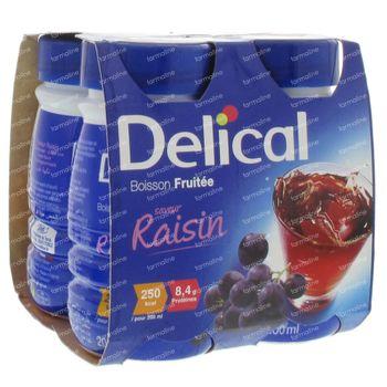Delical Boisson Fruit Raisin 800 g