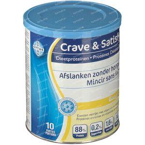 Crave & Satisfy Dieetproteïnen Banaan 200 g poeder