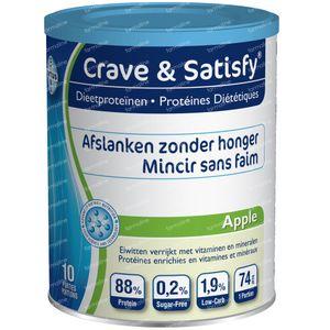 Crave & Satisfy Dieetproteïnen Appel 200 g poeder