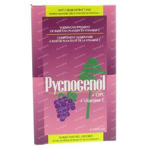 Optimax Pycnogenol 25 mg 45 capsules