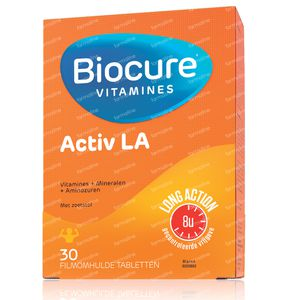 Biocure Activ Long Action 30 St tablets