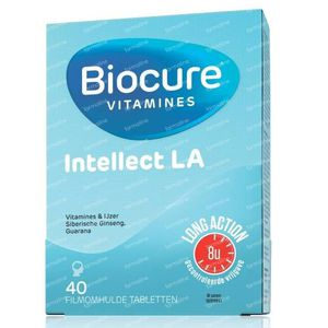 Biocure Intellect Long Action 40 dragees