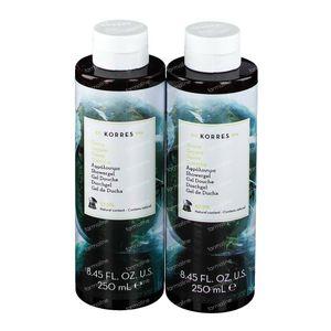 Korres KB Gel Douche Goyave 1+1 2x250 ml