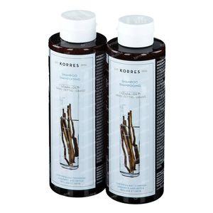 Korres KB Shampooing Ortie - Réglisse 1+1 GRATUIT 2x250 ml