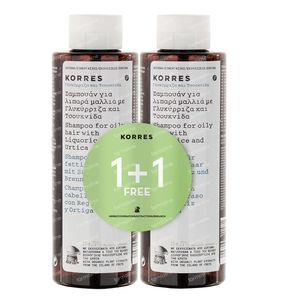 Korres Shampoo Nettle & Licorice 500 ml