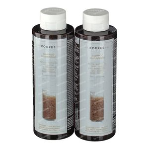 Korres Shampoo Rice & Tile 1+1 500 ml