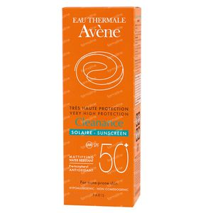 Avene Sun Emulsion Cleanance SPF50+ 50 ml