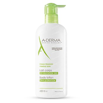 A-Derma Hydraterende Bodylotion 400 ml