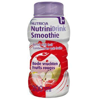 Nutrinidrink Smoothie Rode Vruchten 200 ml