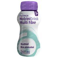 Nutrinidrink Multi Fibre Neutraal 200 ml