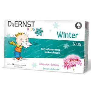 Dr Ernst Kids Winter Tabs 24 tabletten
