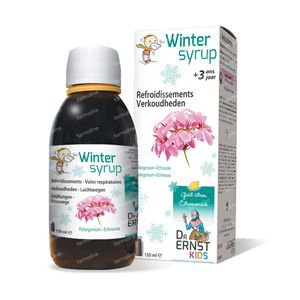 Dr Ernst Kids Winter Siroop 3J+ 150 ml siroop