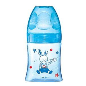 Dodie Saugflasche Initation+ Blau Zitze 1 Loch 150 ml