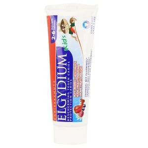 Elgydium Kids Toothpaste Red Fruits Age 2-6 50 ml