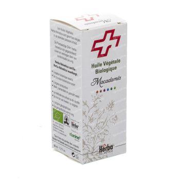 Macadamia Herba Helvetica Plante Huile Bio 50 ml